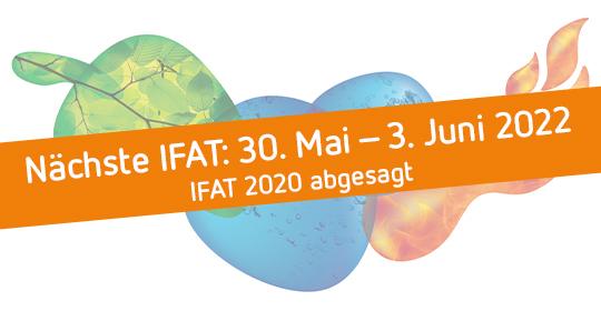 IFAT 2020 abgesagt